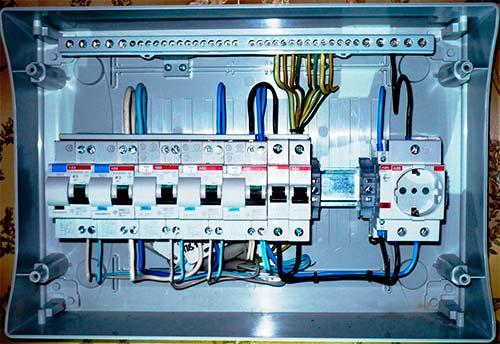 подключение силового электрооборудования